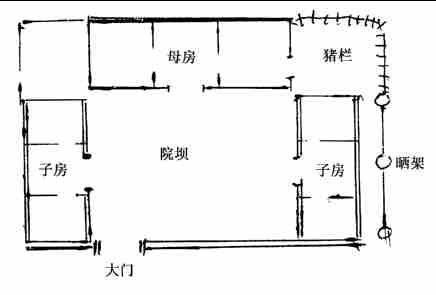 三间平房设计图及效果图展示