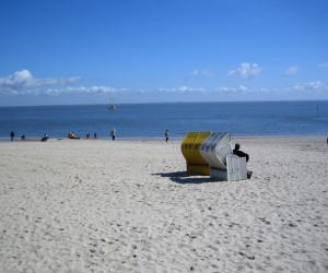 北海的海滩