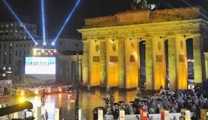 柏林庆祝墙倒20年