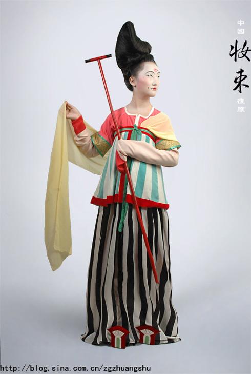 古代古公主裙子简笔画