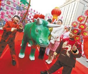 北京建国门打春