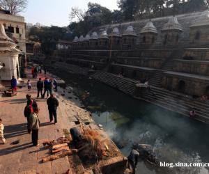1、尼泊尔帕苏帕提寺火葬台