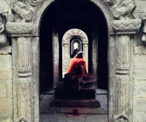 17、寺庙内实景都与火葬仪式有关