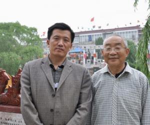 与中国社科院研究员 中国伦理学会原会长陈瑛教授在.