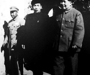 1952年毛泽东上龙云山