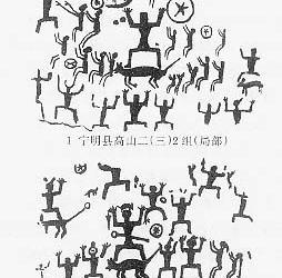[endif]-->萧兵《花山壁画的 民俗 神话学研究》,《黑马》第303-371图片
