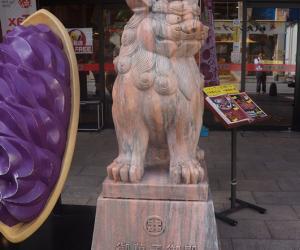 20 商店门口的石狮子