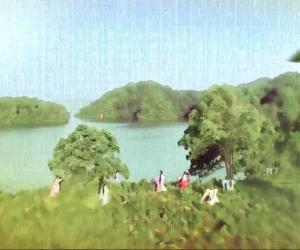 仙女湖沐浴