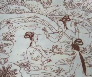 仙女湖沐浴2