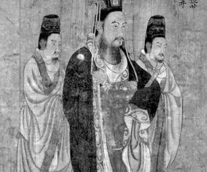 隋文帝冕服图