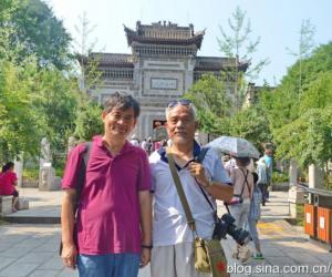 关中民俗博物院合影