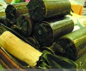 13. 竹筒粽