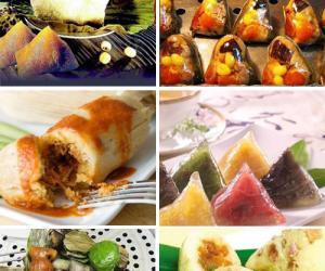 21. 端午节来了,粽子作为传统美食当然是重头戏,除.