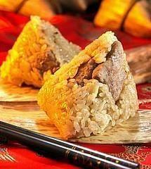 """27.柬埔寨的粽子,被称为""""布袋粽"""