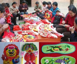 5千阳县是三贤故里、中国民间艺术刺绣之乡,民间工.