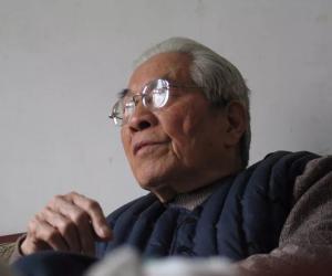 9.张振犁先生(孟宪明摄)