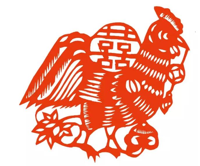 百鸡图:民间剪纸里的吉祥符号